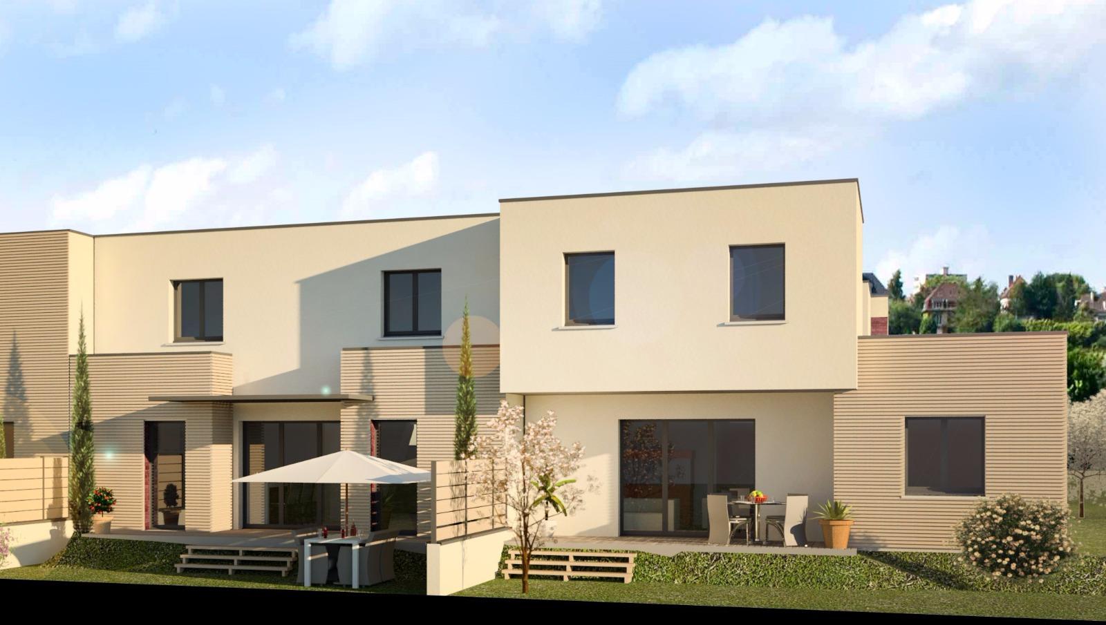 Offres programmes neufs villa duplex avec garage dans for Garage saint jean de bournay